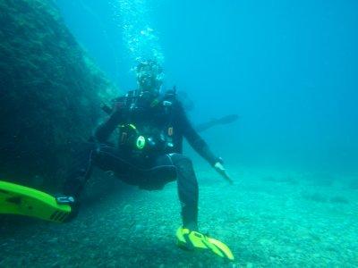 在马贝拉潜水3小时