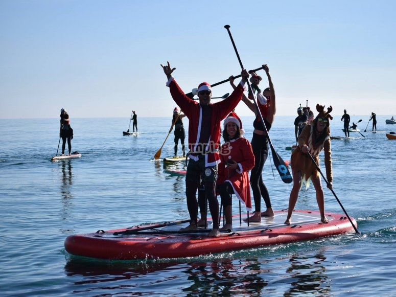 Big SUP rental for families