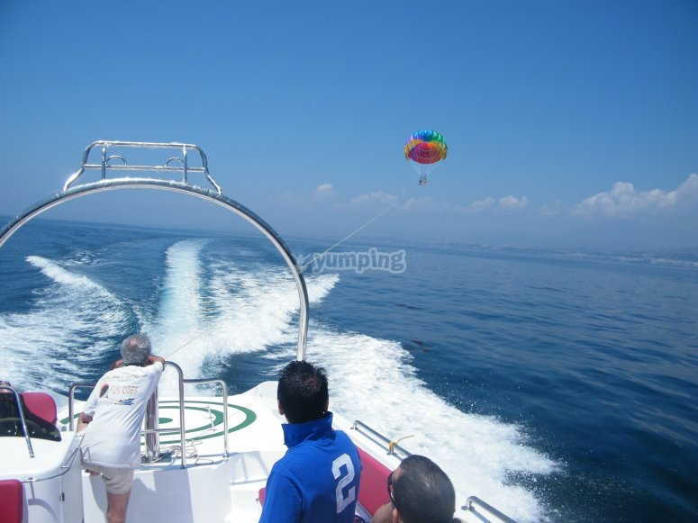 Photo from the boat