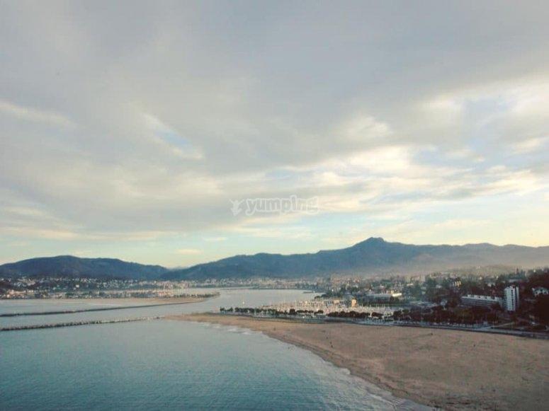 Las playas de día