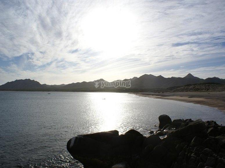 La playa de los frailes