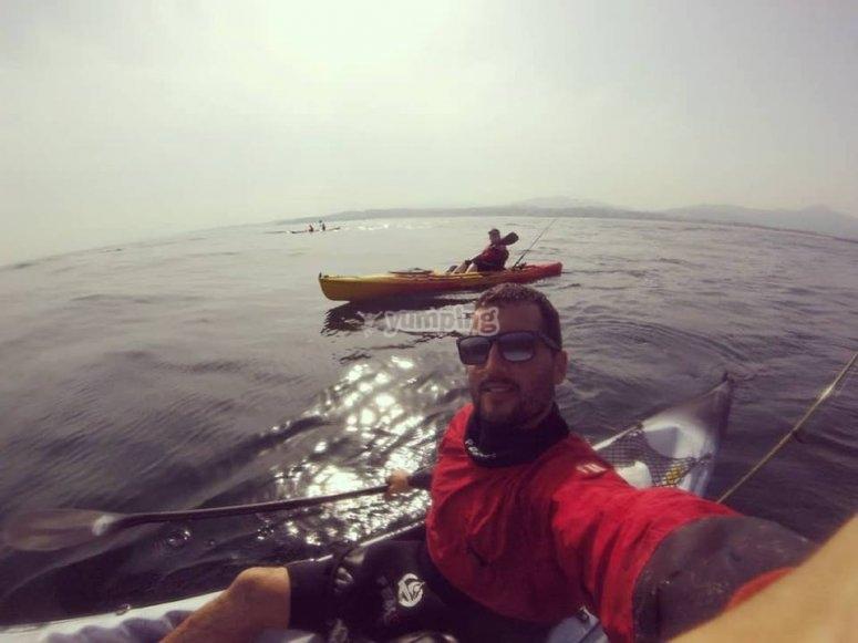 Salida en kayak