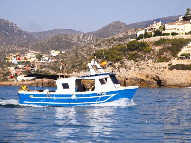 Barca da pesca a Peñíscola
