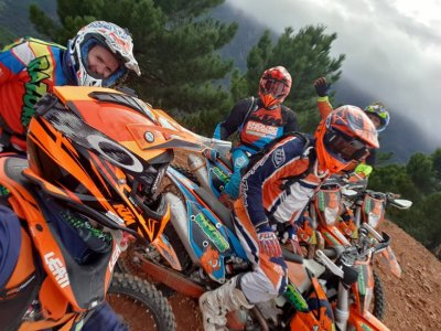 Enduro route full day in Benahavís and food