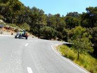 Ruta en quad trike por carretera