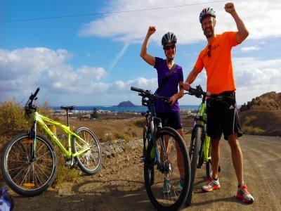 Alquiler de bicicleta de montaña en Corralejo día
