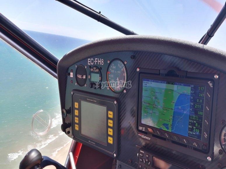 Ultralight aircraft in Murcia