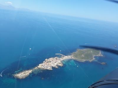 Vuelo en avioneta a la Isla de Tabarca 1 hora