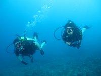 Inmersión sin titulación en el Atlántico