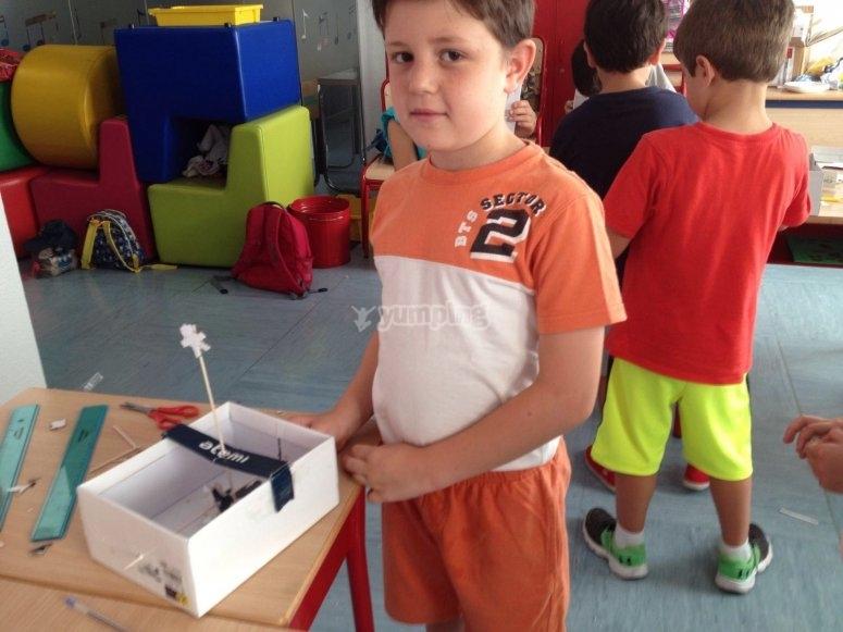 Proyectos llevados a cabo por los niños