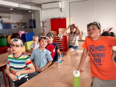 Campamento urbano ciencias en julio 10 días Madrid
