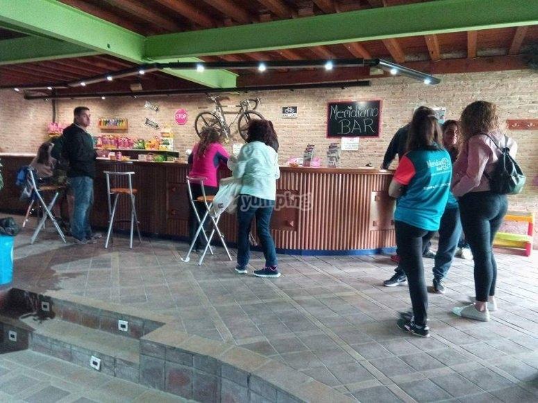 Bar en el interior