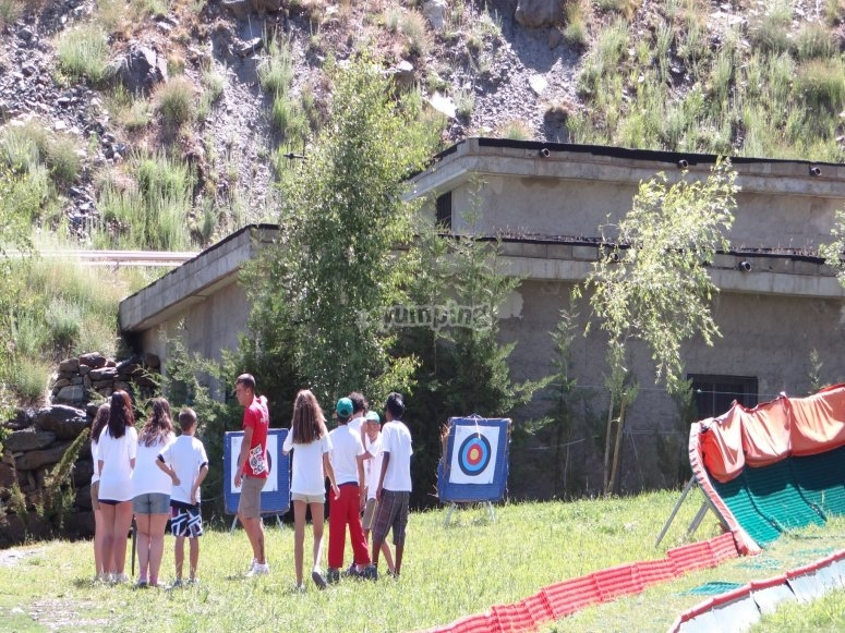 Campamento multiaventura Sierra Nevada