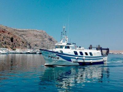 Pesca turismo Jávea Gamba Roja 11 h