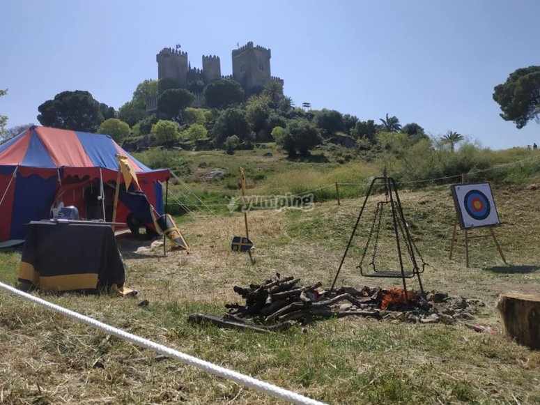 Campo de tiro medieval