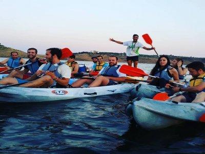 Despedida de soltero kayak y tiro con arco Córdoba