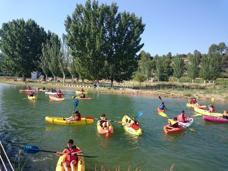 Paseo en kayak por el Segura
