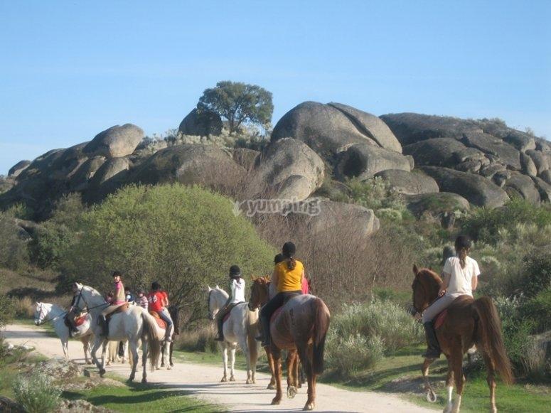 Ruta por caballo