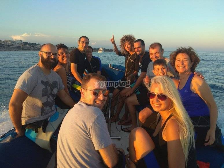 乘船游览哥斯达黎加多拉达