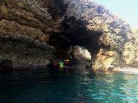 Excursión en kayak Portixol 3 horas