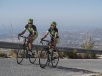 Cyclists on the rise