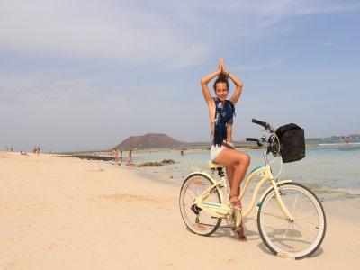 Alquiler de city bike un día norte Fuerteventura