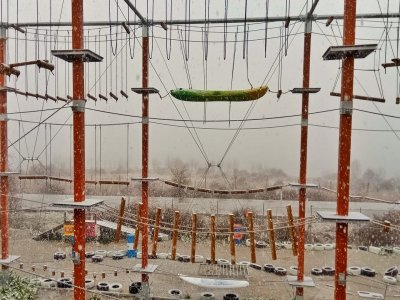 Corda d'addio parco zip line arrampicata 3h