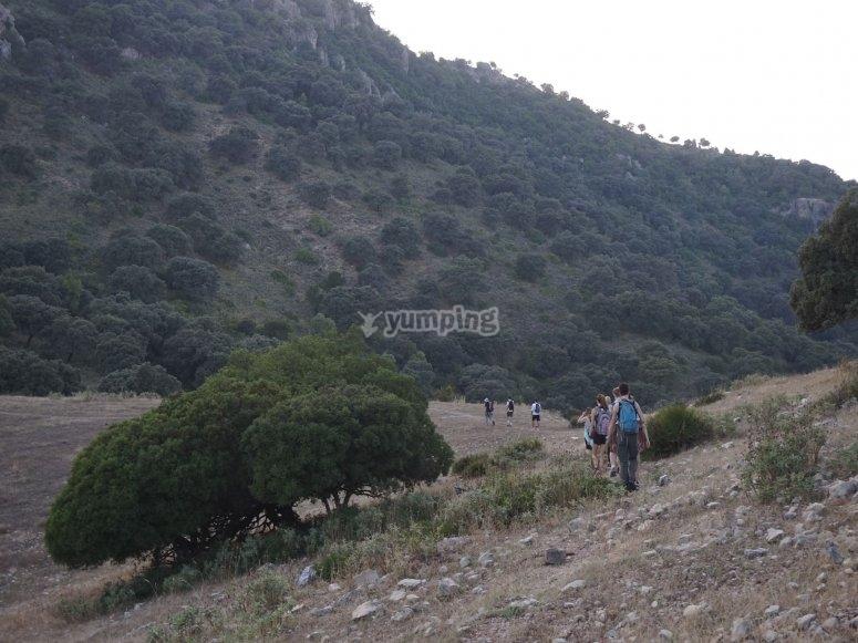 Ascensión monte Algarín