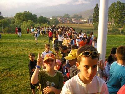 Campamento juvenil Espinosa Monteros 15 días julio