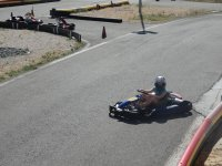 Pilotando un kart