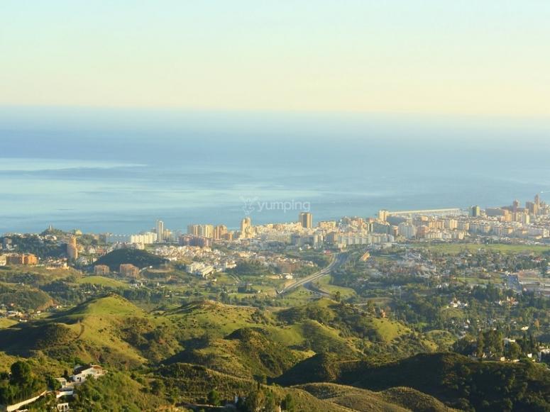 Vistas del mediterráneo desde Fuengirola