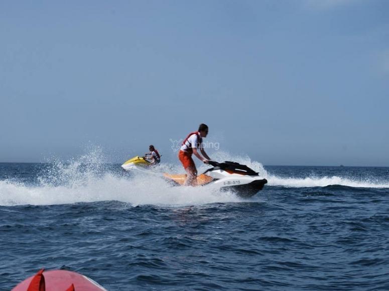 Tour en jet ski Málaga