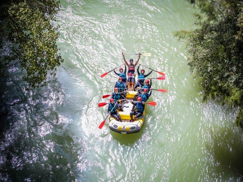 Descendiendo el río Genil