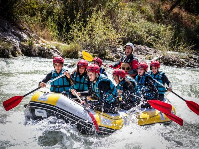 Rafting down the Genil River 4 hours