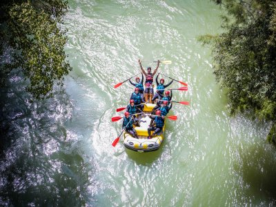 Rafting descent for children Genil river 2 hours