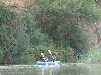 Navegando en un bello lugar