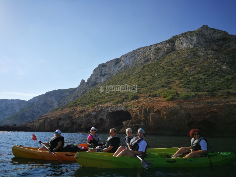 Kayak biplaza Alicante