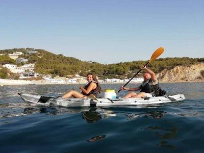 Tour kayak en Portixol, Snorkel y Piscina natural