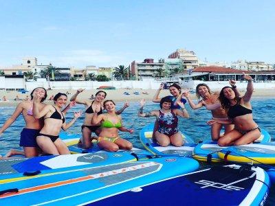 Alquiler material paddle surf 1 hora Badalona