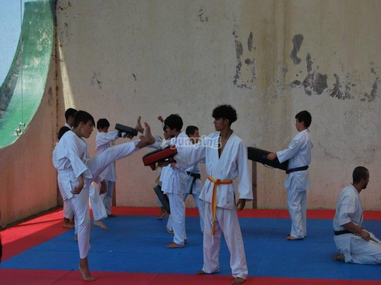 Clases de artes marciales en Menorca