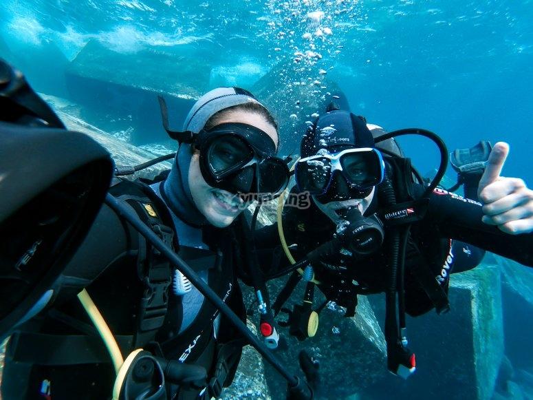 特内里费岛的潜水课程