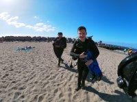 浸入普拉亚洛斯克里斯蒂亚诺斯岛的潜水课程