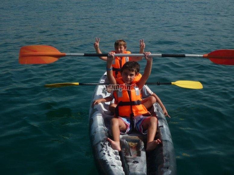 巴达洛纳的皮划艇出租