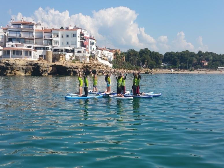 Paddle surf tour for groups Playa Arrabasada