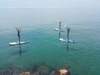 Tour guidato di paddle surf Playa de la Arrabasada 2 h