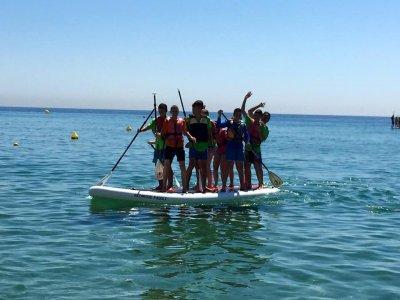 在Badalona租1个大桨SUP