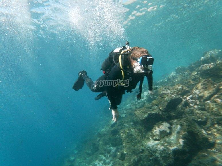 加那利海底