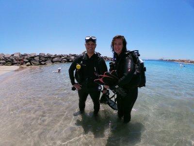 开放水域潜水员课程特内里费住宿5天