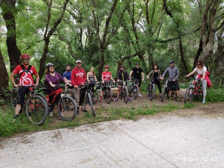 Foto grupal en el parque natural