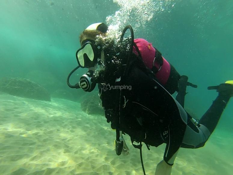 Explorando el fondo marino del Mediterráneo